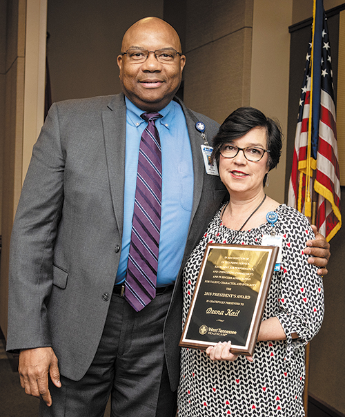 2018 President's Award Presented to Deena Kail