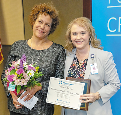 Jackson-Madison County General Hospital Honors Doctor of the Year